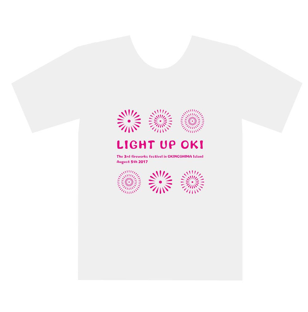 花火Tシャツデザイン表